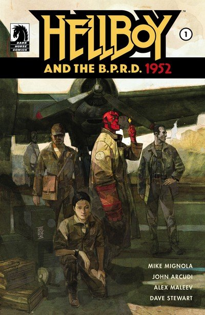 Hellboy and the B.P.R.D. #1 – 5 + TPB (2014-2015)