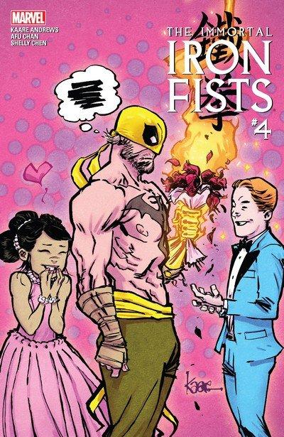 Immortal Iron Fists #4 (2017)