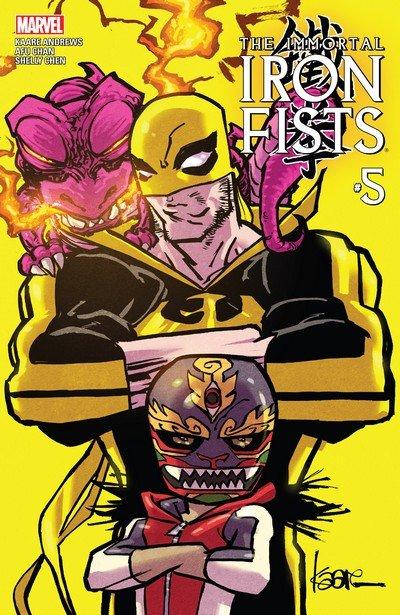 Immortal Iron Fists #5 (2017)