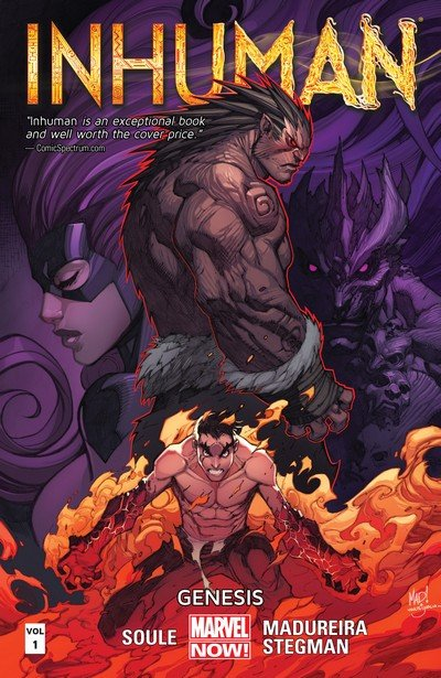 Inhuman Vol. 1 – 3 (TPB) (2015)