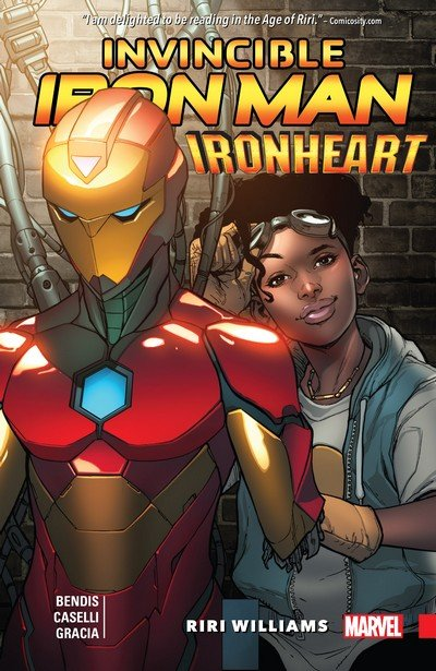 Invincible Iron Man – Ironheart Vol. 1 – Riri Williams (2017)