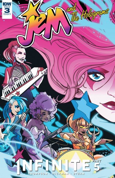 Jem and the Holograms – Infinite #3 (2017)