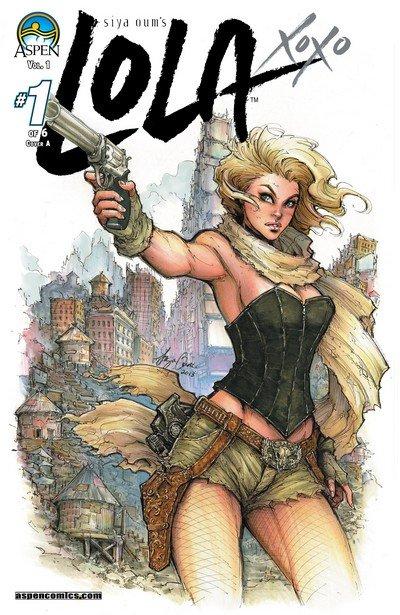 Lola XOXO #1 – 6 + TPB Vol. 1 (2014-2015)