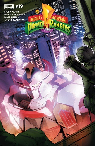 Mighty Morphin Power Rangers #19 (2017)