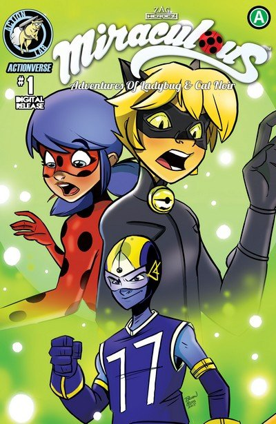 Miraculous – Adventures of Ladybug and Cat Noir #1 (2017)