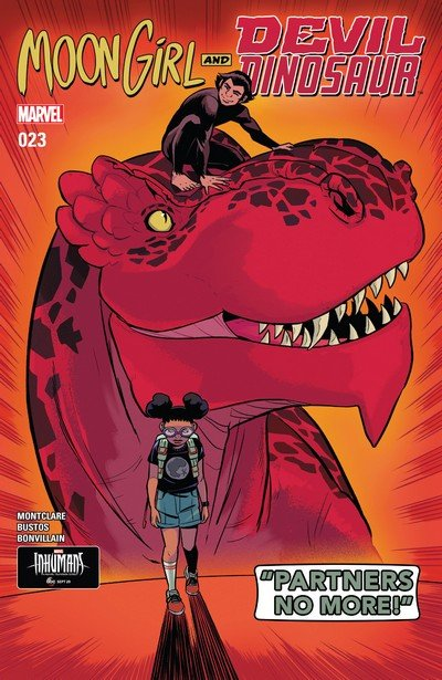Moon Girl and Devil Dinosaur #23 (2017)