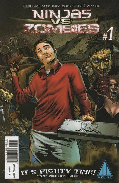 Ninjas Vs Zombies #1 – 6 (2011-2012)