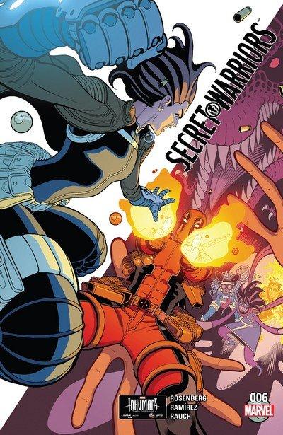 Secret Warriors #6 (2017)