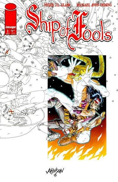 Ship of Fools #1 – 3 (Image Comics) (1997-1998)