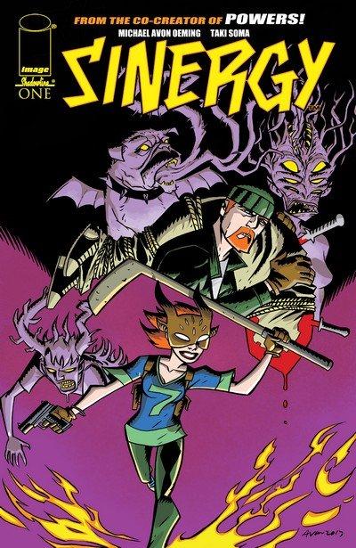 Sinergy #1 – 5 (2014-2015)