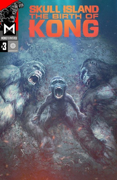 Skull Island The Birth Of Kong #3 (2017)