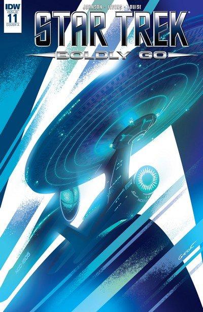 Star Trek Boldly Go #11 (2017)