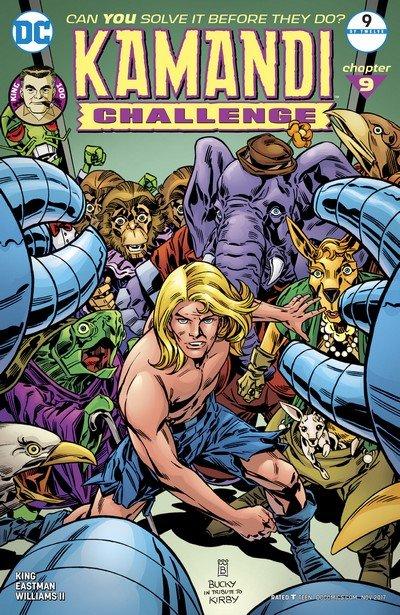 The Kamandi Challenge #9 (2017)