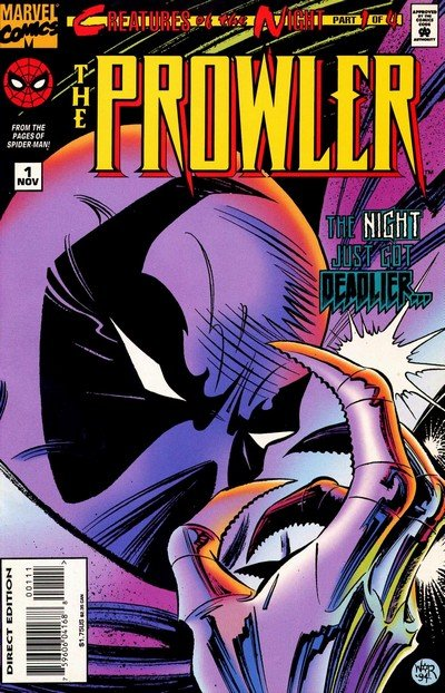 The Prowler #1 – 4 (1994-1995)
