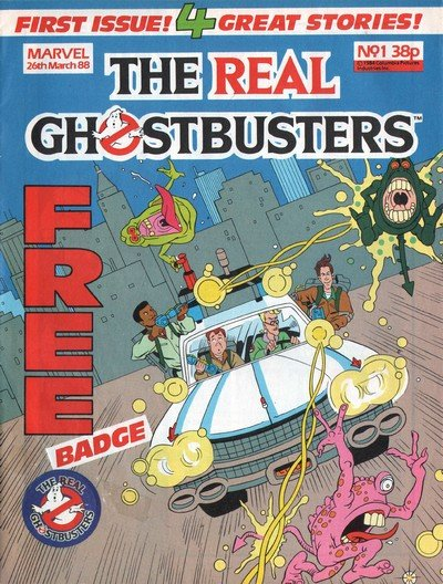 The Real Ghostbusters (Marvel UK) #1 – 193 (1988-1992)