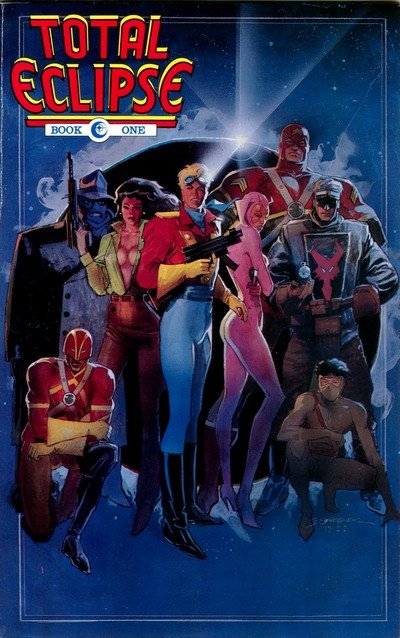Total Eclipse #1 – 5 (1989)