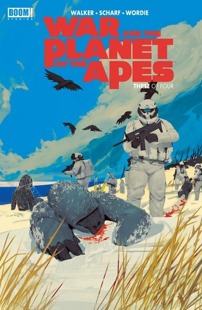 War for the Planet of the Apes #3 (2017)