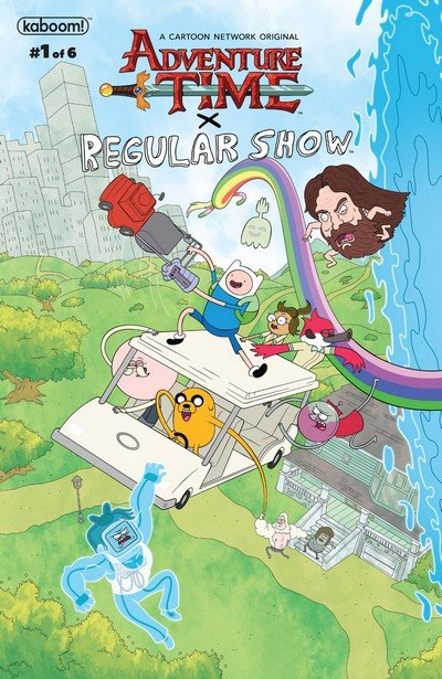 Adventure Time – Regular Show #1 (2017)