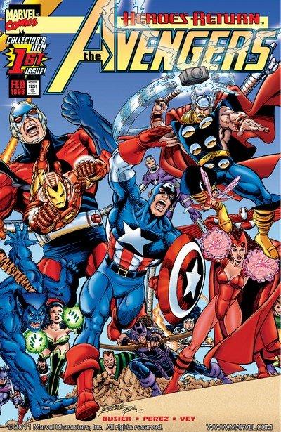 Avengers Vol. 3 #0 – 84 + 500 – 503 + TPBs (1998-2004)