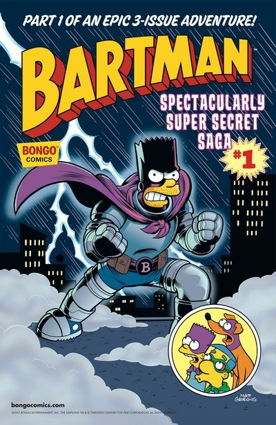 Bartman Spectacularly Super Secret Saga #1 (2017)