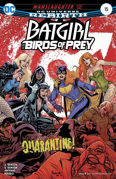 Batgirl and the Birds of Prey #15 (2017)