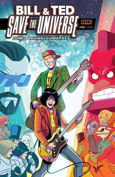 Bill & Ted Save the Universe #5 (2017)