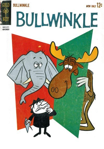 Bullwinkle #1 – 23 (1962-1979)