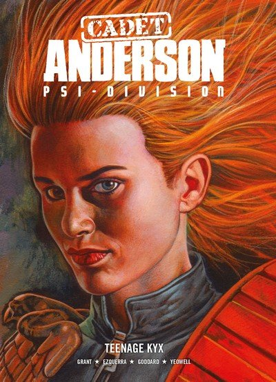 Cadet Anderson, Psi-Division Vol. 1 – Teenage Kyx (2016)