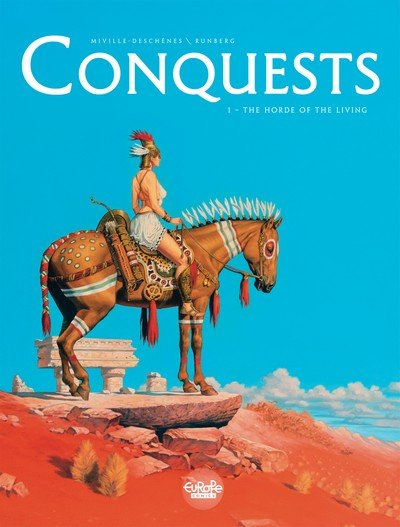 Conquests #1 – 4 (2016)