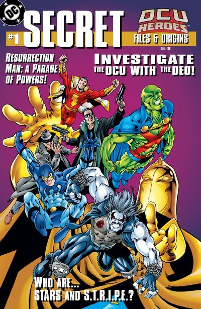 DCU Heroes Secret Files and Origins #1 (1998)