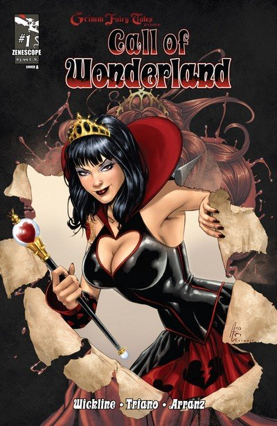 Grimm Fairy Tales presents Call of Wonderland #1 – 4 (2012)
