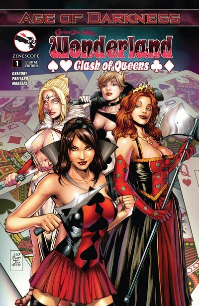 Grimm Fairy Tales presents Wonderland – Clash of Queens #1 – 5 (2014)