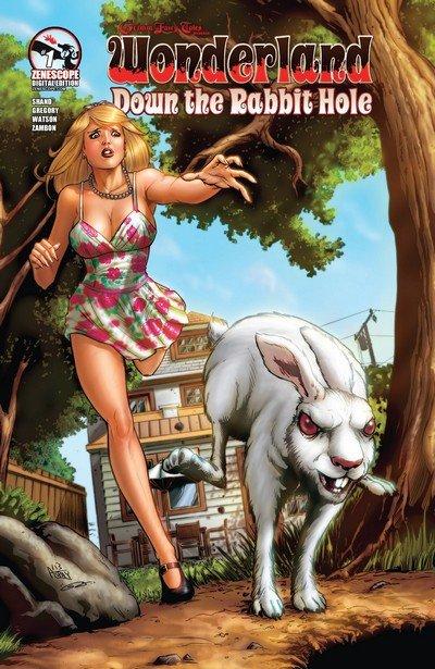 Grimm Fairy Tales presents Wonderland – Down the Rabbit Hole #1 – 5 (2013)