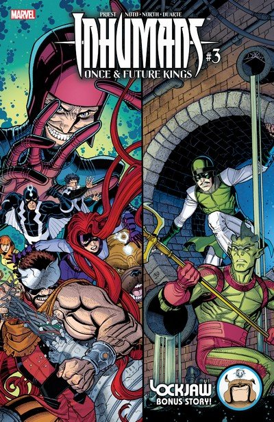 Inhumans – Once and Future Kings #3 (2017)