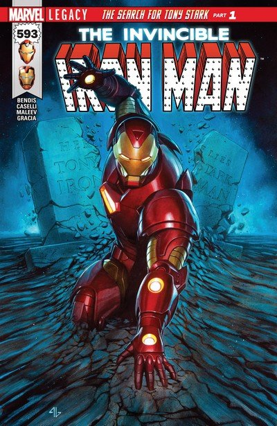 Invincible Iron Man #593 (2017)