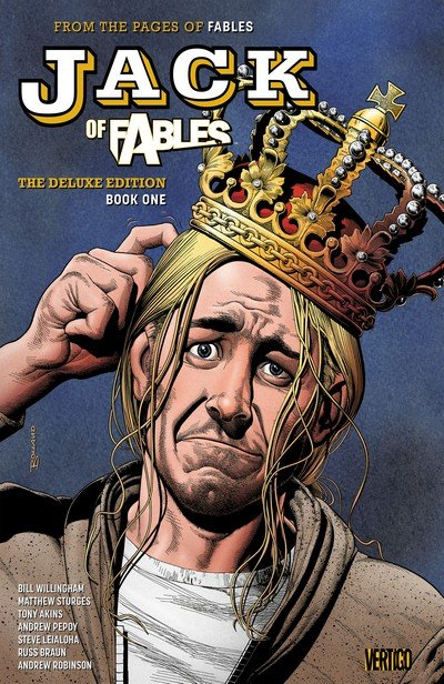 Jack of Fables – The Deluxe Edition Book 1 – 3 (2017-2020)