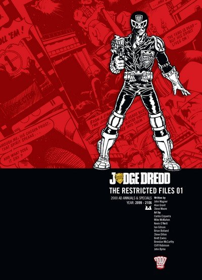 Judge Dredd – The Restricted Files Vol. 1 – 4 (2012-2016)