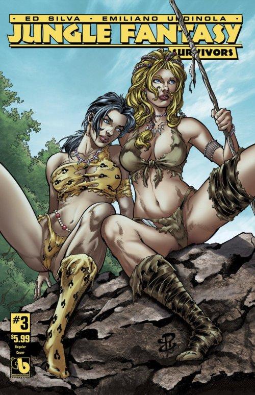 Jungle Fantasy – Survivors #4 (2017) (ADULT)