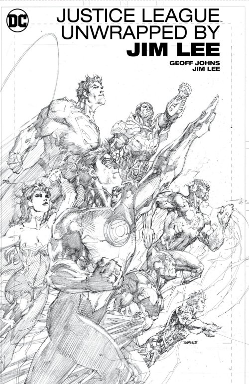 Justice League Unwrapped by Jim Lee (2017)