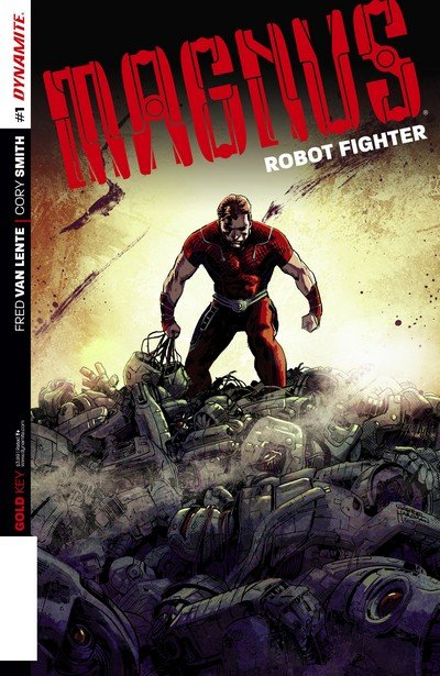 Magnus – Robot Fighter #0 – 12 + TPB Vol. 1 – 3 (2014-2015)