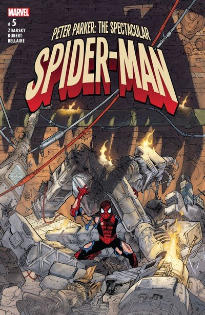 Peter Parker – The Spectacular Spider-Man #5 (2017)
