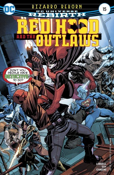 Red Hood and the Outlaws #15 (2017)