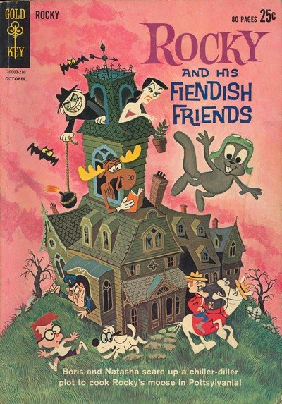 Rocky And His Fiendish Friends #1 – 5 (1962-1963)