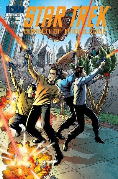 Star Trek – Burden of Knowledge #1 – 4 (2010)