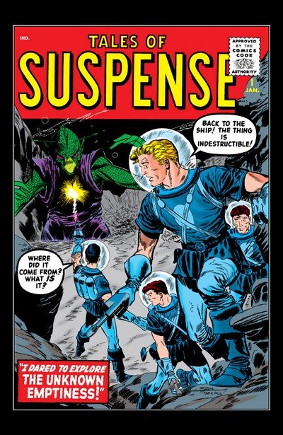 Tales of Supsense Vol. 1 #1 – 99 (1959-1968)
