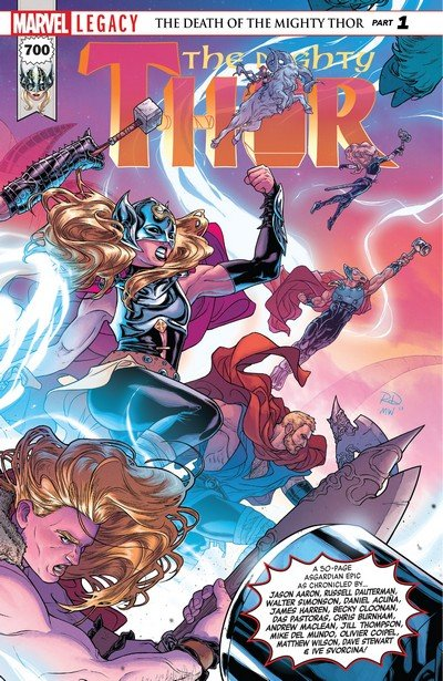 The Mighty Thor #700 (2017)