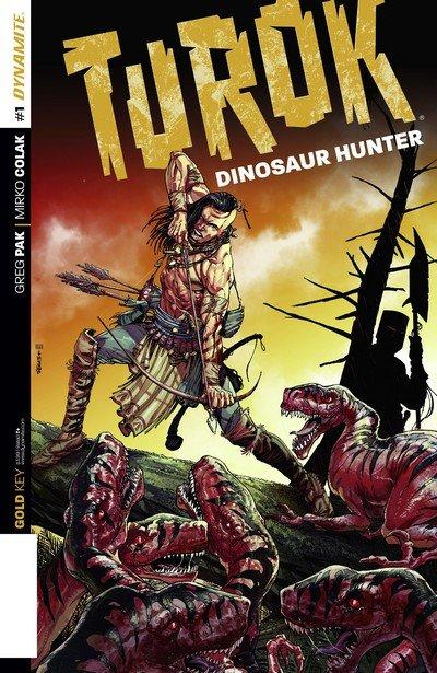 Turok – Dinosaur Hunter #1 – 12 + TPB Vol. 1 – 3 (2014-2015)