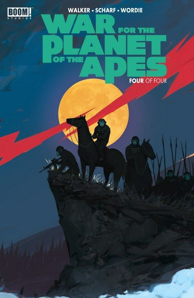 War for the Planet of the Apes #4 (2017)