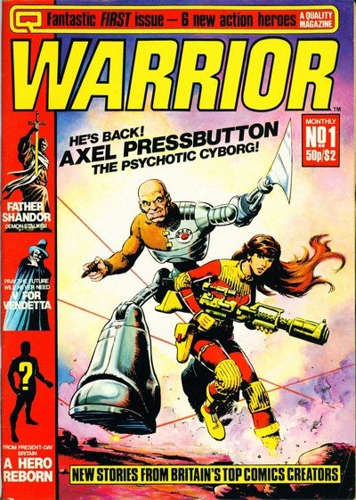 Warrior #1 – 25 (1982-1984)