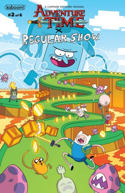 Adventure Time – Regular Show #2 (2017)